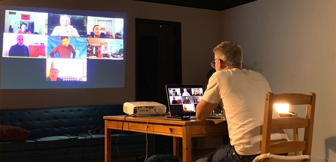 live and interactive online classes with Director Billie Milionis